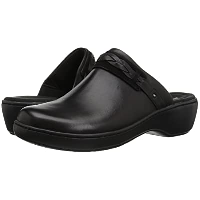 Clarks Delana Abbey (Black Leather) Women