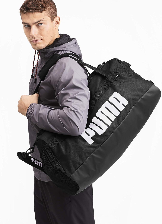 Amazon.com: Puma Challenger Duffel Bag M 076621 - black - (Black ...