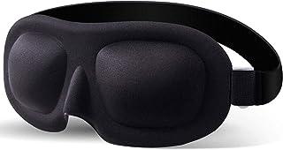 Poswlto Eye Mask for Sleeping Men Women Block Out Light Sleep Masks Concave Molded Night Sleep Shade Cover Mask Blindfold for Yoga Meditation Comfortable Soft