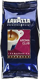 Lavazza Espresso Point Cartridges Aroma Club Capsules 100% Arabica Blend (100 count) Single-Serve Coffee Capsules & Pods, ...