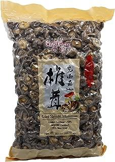 ONETANG Dried Mushrooms 5 Pound Dried Shiitake Mushrooms Natural Food Non-GMO Food Mushroom 80 oz