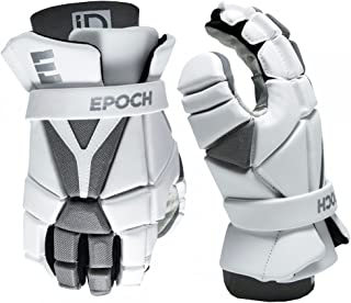 Epoch Lacrosse iD 高性能,轻质,弹性,长曲棍球手套,适用于进攻、中卫和防卫者