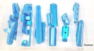 Aluminum Finger Splint Kit (16 Pieces - Variety - Aluminum/Foam)