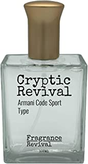 Cryptic Revival, Armani Code Sport Type