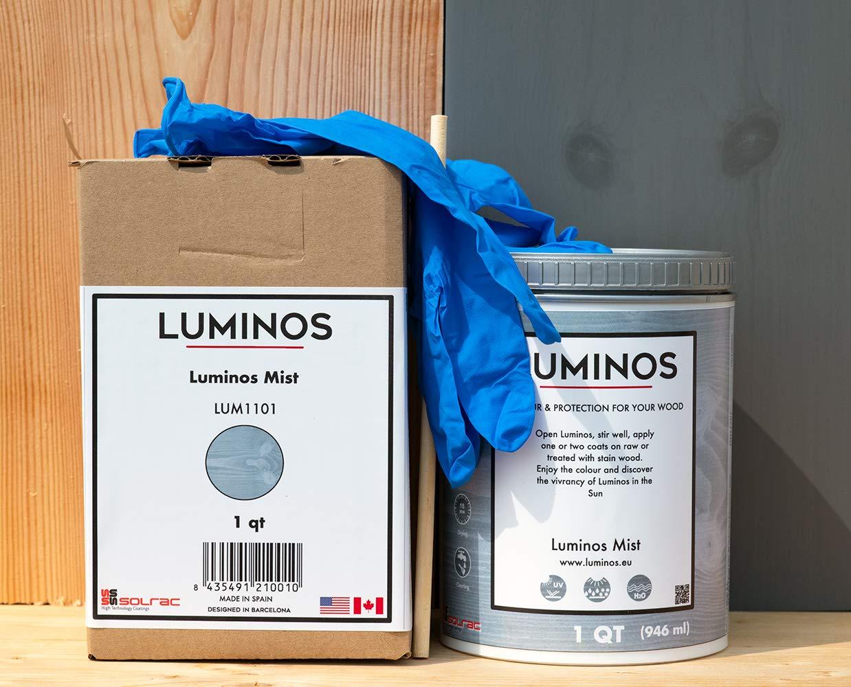 Luminos LUM1101 - Mistón de madera para exteriores (acabado ...