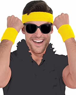 Athlete Sweatband Kit - Set Of 1 Headband and 2 Wristbands