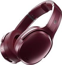 Skullcandy Crusher ANC - Auriculares inalámbricos con cancelación de ruido, color rojo