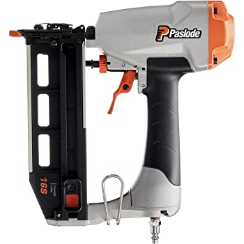 Battery and Fuel Cell Powered Paslode 916000 16 Gauge Straight Cordless Finish Nailer No Compressor Needed