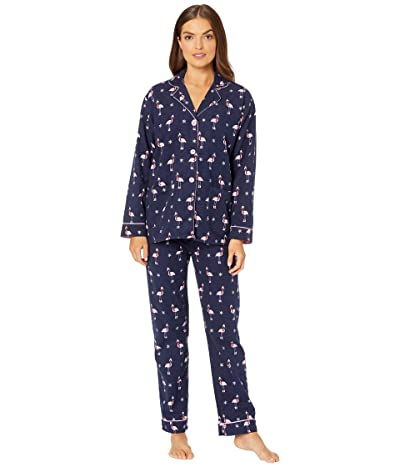 P.J. Salvage Flamingo Sleep Set (Navy) Women