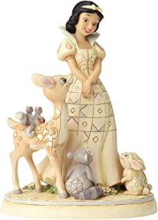 Enesco Disney Traditions by Jim Shore Woodland Snow White Figurine, 7.8