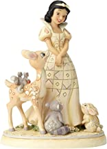 Enesco Disney Traditions by Jim Shore Woodland Snow White Figurine, 7.8