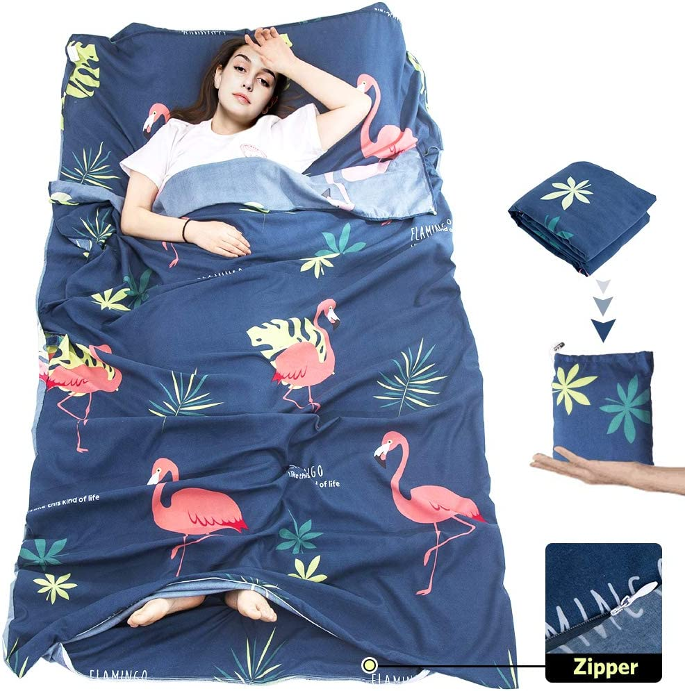 MeiLiMiYu Sleeping Bag Liner Weekly update Portable Sack Di Lightweight Manufacturer direct delivery Sleep