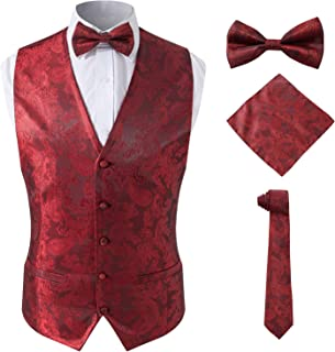 Best red dress vest Reviews