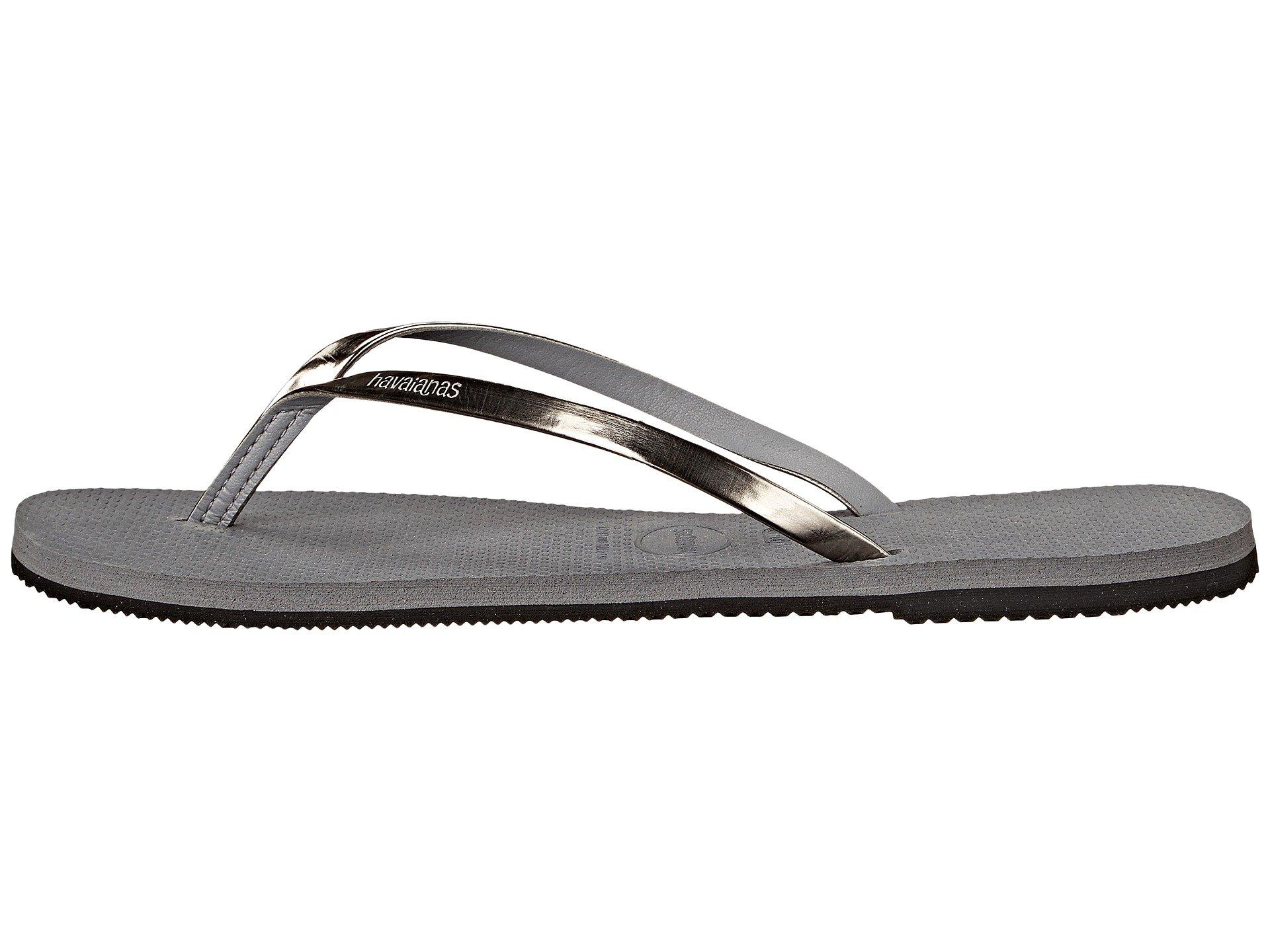 Steel Grey Flops Metallic You Flip Havaianas Tqv00R