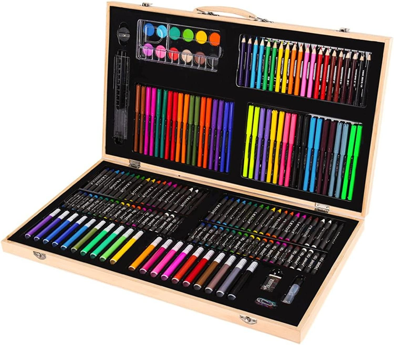 176 Stück Kunst Set Kinder   Kinder Frbung Zeichnung Malerei Kunsthandwerk Fall