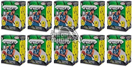 Sports Memorabilia 2016-17 Panini Prizm Basketball 6ct Blaster 10-Box Lot - Basketball Wax Packs