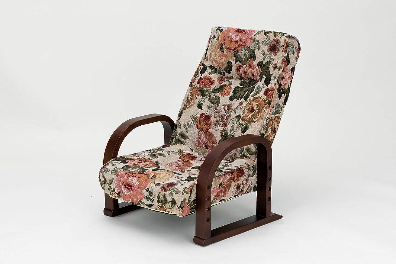 民主主義唇パステル武田コーポレーション 座椅子 ゴブラン 55×71×72 A8-RY69H