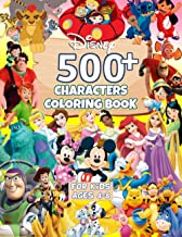 500+ Characters Coloring Book: Lilo and Stitch, Winnie The Pooh, Mickey Mouse, Finding Nemo, Toy Story, Monsters, Inc. , D.Princess and More… PDF