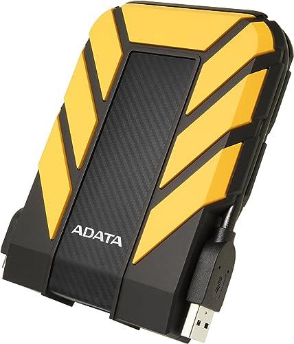 HD Externo Adata Anti-Queda, à Prova D'água, IPX68 Durable HD710 Pro USB 3.2, 2TB, 2.5', Amarelo