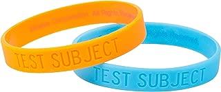 JINX Portal 2 Rubber Bracelet Set