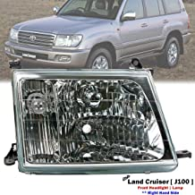 Front Right Side Headlight Lamp Fits For Toyota Land Cruiser 100 Series 1998-2005