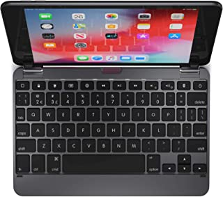 $89 » Brydge 7.9 Keyboard for iPad Mini (5th Generation) and iPad Mini (4th Generation) | Aluminum | Bluetooth | Rotating Hinges (Space Gray)