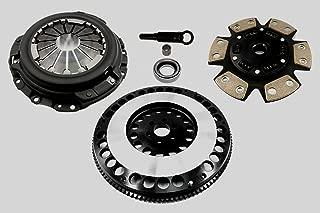 Clutch Kit Complete Set Stage 3 Racing Heavy Duty High Performance Kit & Flywheel 12LBS For Nissan 240SX KA24DE 2.4L Automotive Clutch Pressure Plates & Disc Sets - House Deals