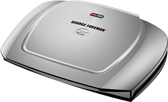 George Foreman 9-Serving Basic Plate Electric Grill and Panini Press