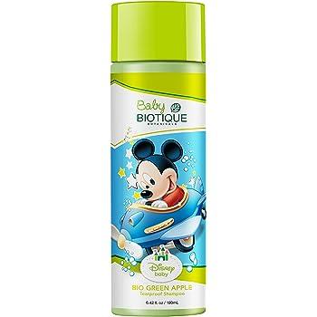 Biotique Disney Mickey Baby Tear Proof Shampoo, Green Apple (190ml)