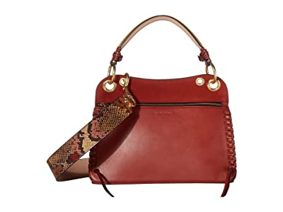 See by Chloe Tilda Shoulder Bag (Faded Red) Handbags