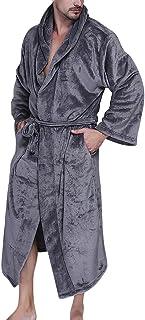 f2d01372501e29 Accappatoio per Uomo e Donna con Cappuccio Morbido Super Caldo Bath Robe  Vestaglia