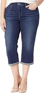 Levi's Women's Plus-Size Shaping Capris