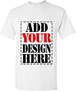 Design Your OWN Shirt Customized T-Shirt - Add Your Picture Photo Text Print