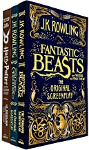 J.K. Rowling Collection 3 Books Set (Fantastic Beasts and Where to Find Them, The Crimes of Grindelwald, Harry Potter and ...