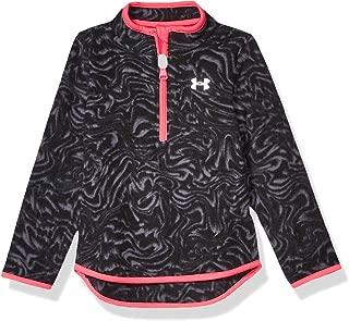Under Armour Girls' 1/4 Zip Long Sleeve Pullover