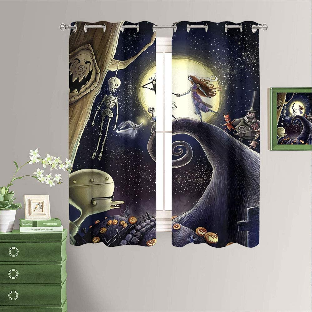 Room Limited time sale Darkening Blackout Free Shipping Cheap Bargain Gift Window Curtains C Movie Classic Animated