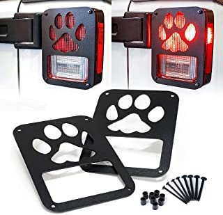 Best jeep tail light covers paw print Reviews