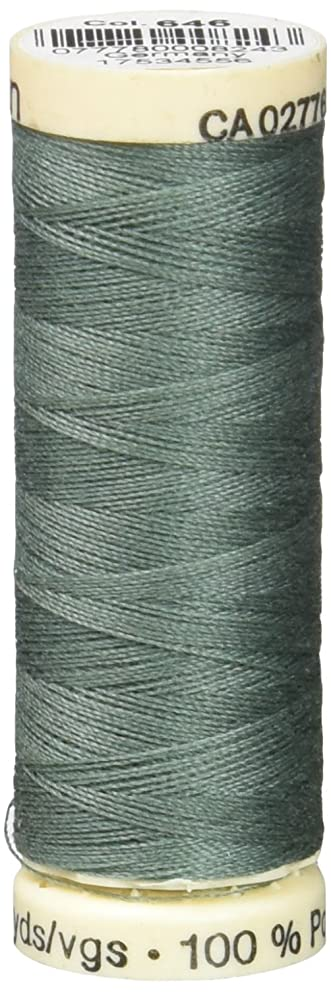 Gutermann Sew-All Thread, 110-Yard, Steel Green
