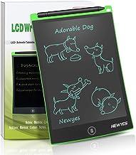 NEWYES 8,5 Pulgadas Tableta Gráfica, Tablets de Escritura LCD, Portátil Tableta de Dibujo Adecuada para el hogar, Escuela, Oficina, Cuaderno de Notas, 1 año de garantía (Verde)