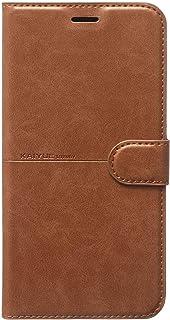 جراب محفظة جلدية قلاب لهاتف Infinix Hot 10 Play / X688B Kaiyue - بني اللون