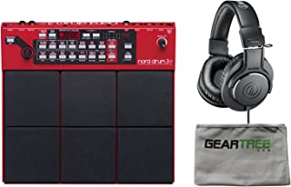 Nord Drum 3P Modeling Percussion Synthesizer w/Cleaning Cloth and Headphones