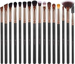 BESTOPE 16 Pcs Eye Makeup Brushes, Professtional Eyeshadow Brush Set with Soft Synthetic..