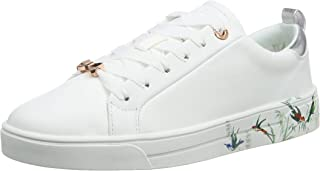 Ted Baker Roully Womens White Fortune Leather Trainers