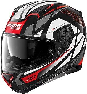 Nolan Herren N87 Originality N com Glossy Black M Helmet, schwarz, M