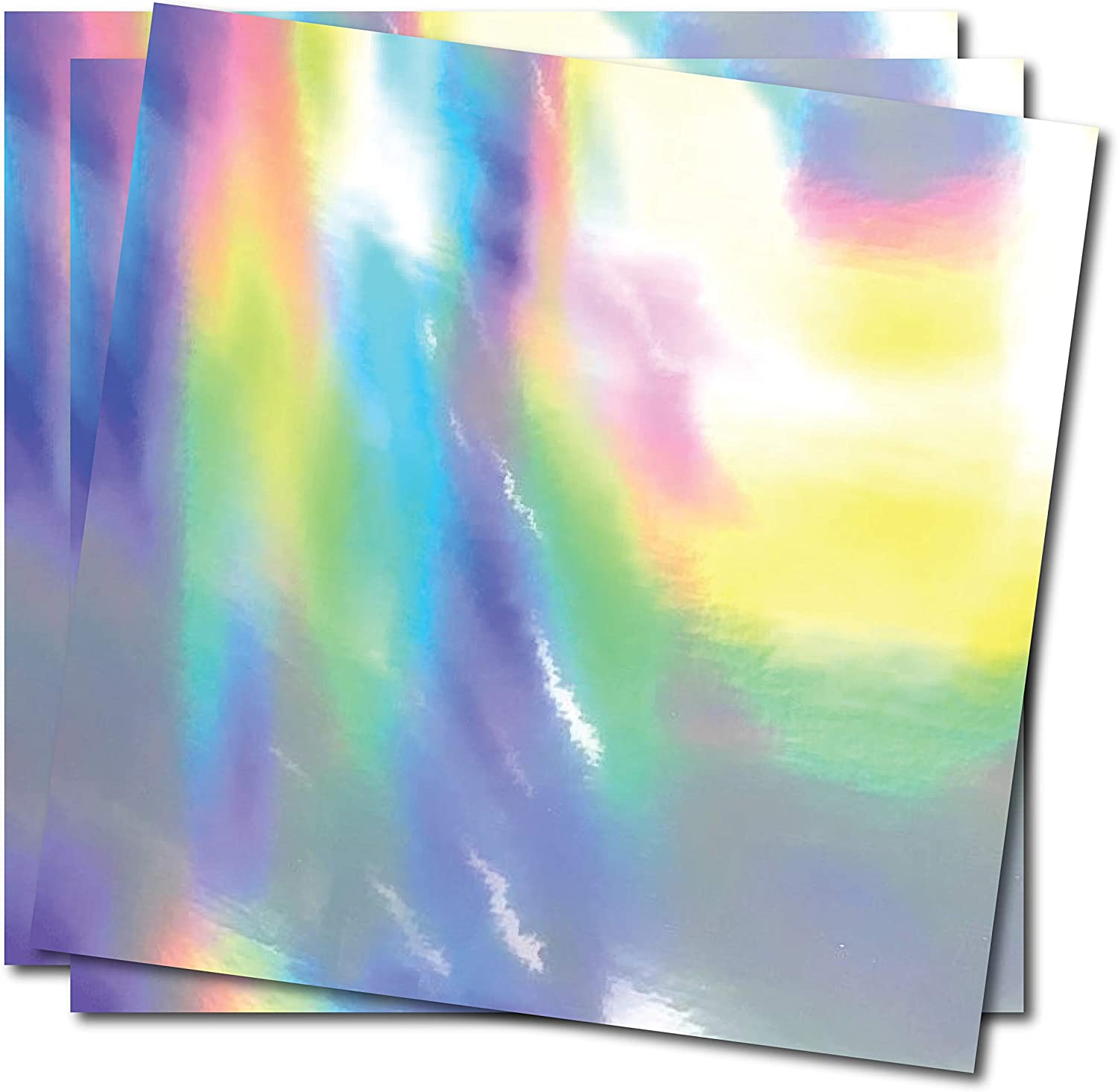 Darknaila - Holographic Silver Rainbow Self-A Slick Colorful Oil Max 41% OFF Save money