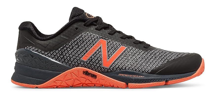 そうでなければ慎重小切手(ニューバランス) New Balance 靴?シューズ レディーストレーニング Minimus 40 Trainer Black with Thunder and Sunrise ブラック サンダー US 5.5 (22.5cm)