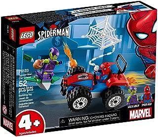 Lego Marvel Superheroes Spider-Man Car Chase 76133, Building Kit (52 Pcs) for kids - Multicolour