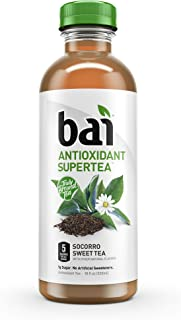Bai Iced Tea, Socorro Sweet, Antioxidant Infused Supertea, Crafted with Real Tea (Black Tea, White Tea), 18 Fluid Ounce Bo...