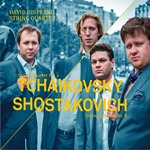 Tchaikovsky: String Quartet No. 2 - Shostakovich: String Quartet No. 8
