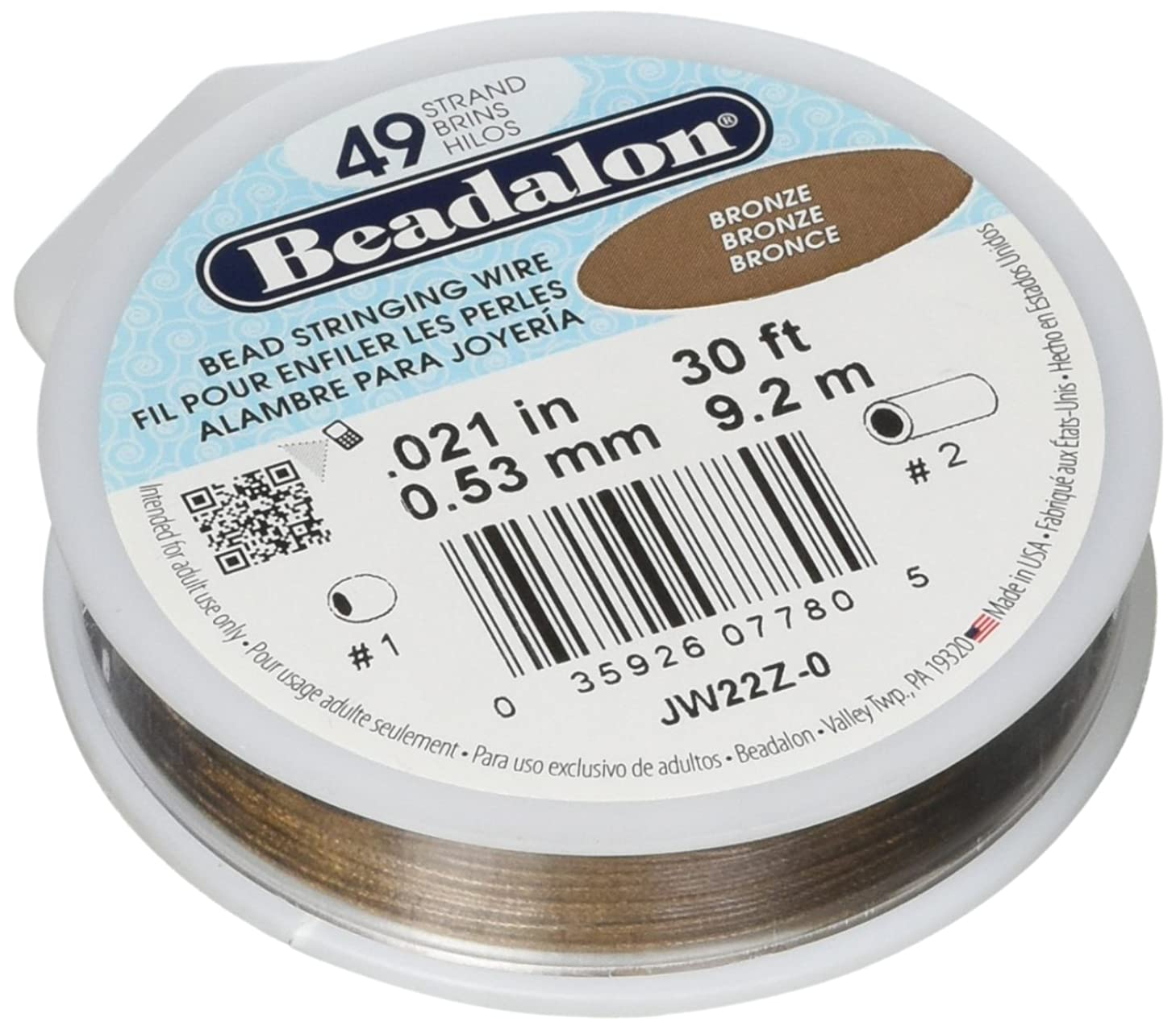 Beadalon 49-Strand 0.021